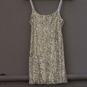 Free People Intimately Sequined Top